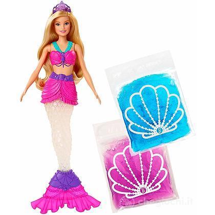 Barbie Dreamtopia Bambola Sirena con Slime (GKT75)
