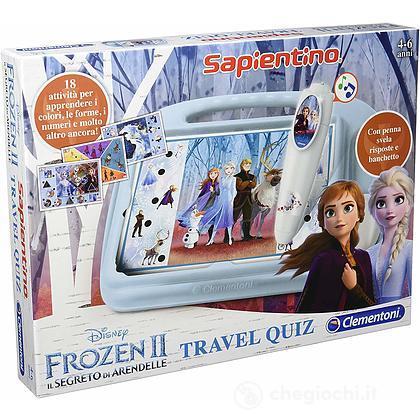 Sapientino Travel Quiz Disney Frozen 2 (16186)