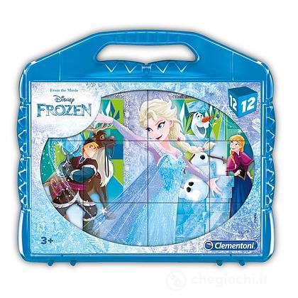Valigetta Cubi 12 pezzi Frozen (41186)