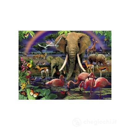 Magic 3D puzzle 1000 - Savana africana