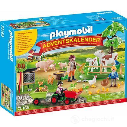Calendario Avvento Playmobil.Calendario Dell Avvento La Fattoria 70189