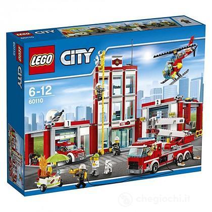 Caserma dei pompieri - Lego City Fire (60110)