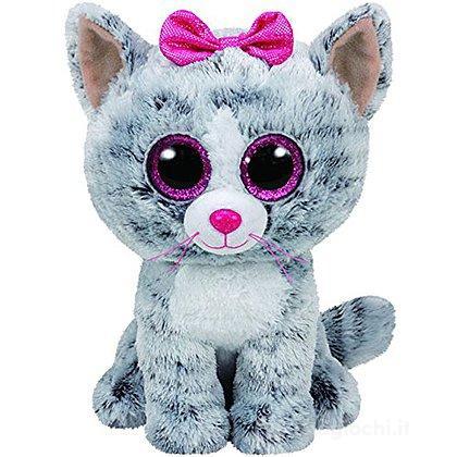 Peluche Kiki - Gatto grigio 15 cm Beanie Boo (37190)