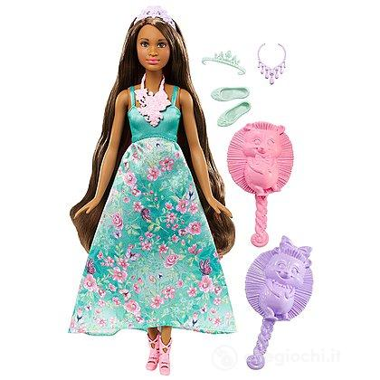 Barbie Dreamtopia Principessa Chioma Colorata (DWH43)