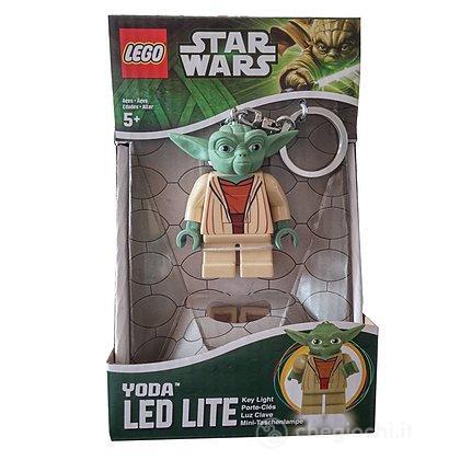 Lego Star Wars Portachiavi con luci Yoda
