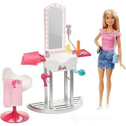 Barbie Arredamenti Salone di Bellezza (FJB36)