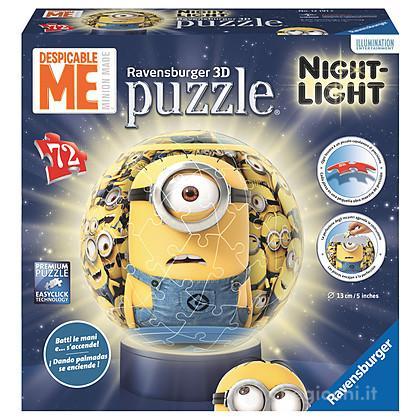 Puzzleball Minions Lampada Notturna