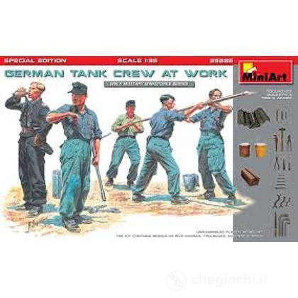 Soldati tedeschi al lavoro 1:35 (MA35285)