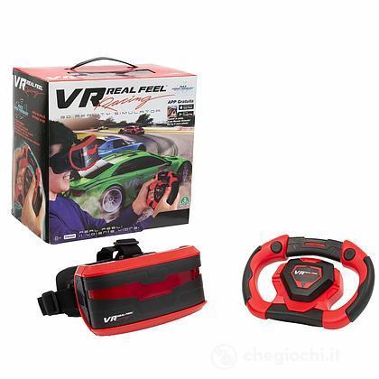 VR Real Feel Racing Car. Simulatore realtà virtuale