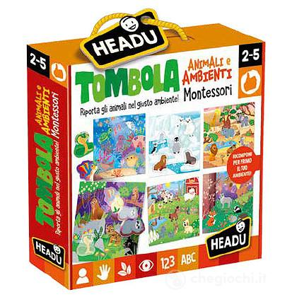 Tombola Montessori Animali e Ambienti (IT21932)