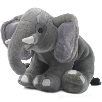 Elefante seduto
