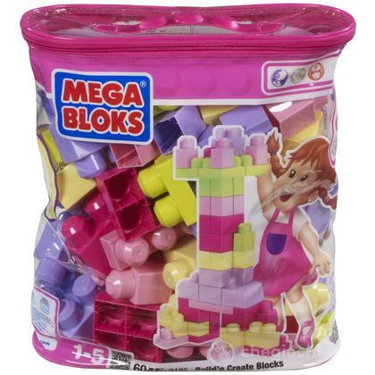 Sacca Maxi mattoncini rosa - 60 pezzi (8195 )