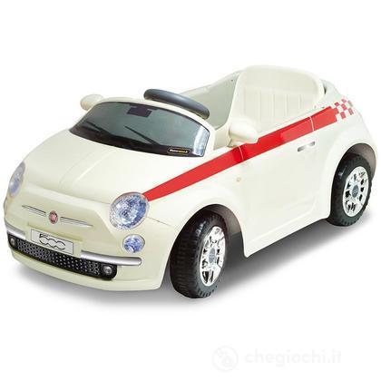 Baby Car Fiat 500 Radiocomando Deluxe Colore Bianco (501951)