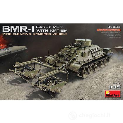 Carro Armato BMR - 1 Early Mod. with KMT - 5M 1:35 (MA37034)