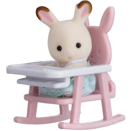 Bebè coniglio/seggiolone (5197)