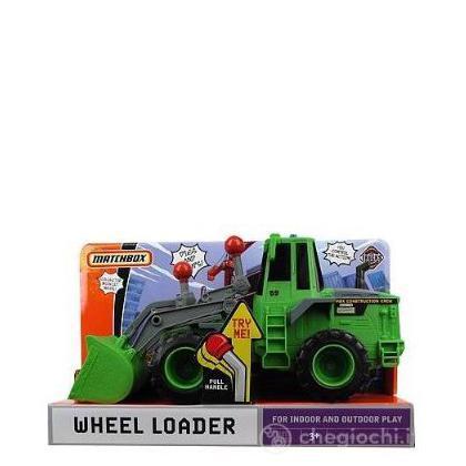 Matchbox Real Action Trucks Wheel Loader (P4606)