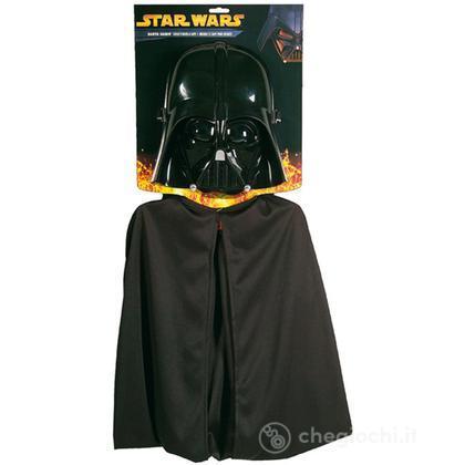 Set Darth Vader - maschera e mantello (R1198)
