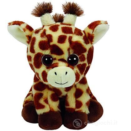 Peluche Peaches - Giraffe 15 cm Beanie Boo (41199)