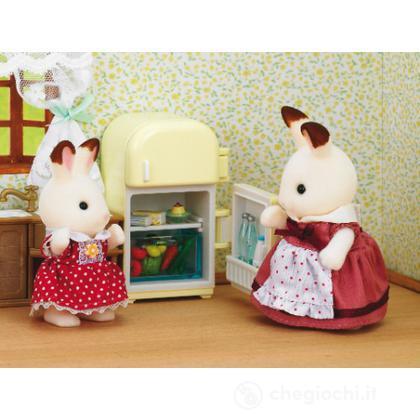 Mamma coniglio cioccolato con frigorifero