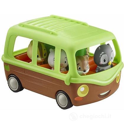 L'autobus delle avventure klorofil con 1 personaggio incluso (KF40269)