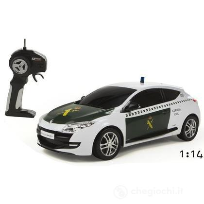 Renault Megane Rs Guardia Civil Radiocomandato scala 1:14 (63203) (63203)