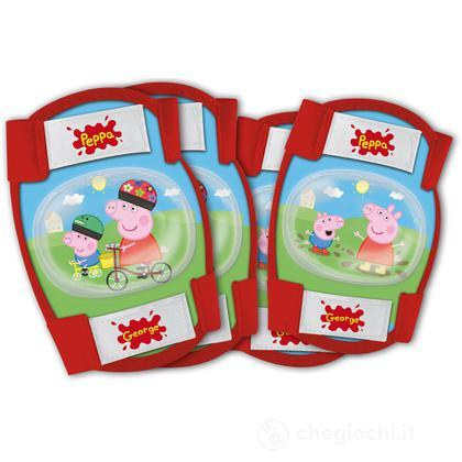 Kit Protezione Gomitiere/Ginocchiere Peppa Pig (70203)