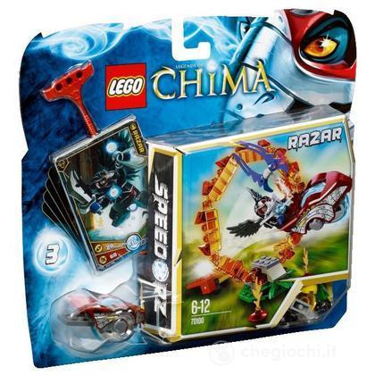 Il cerchio di fuoco - Lego Legends of Chima (70100)