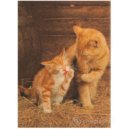 Ginger Cats - 500 pezzi Cork Puzzle (Sughero) (30205)