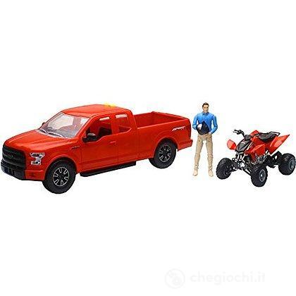 Auto Ford F150 + Quad 1:14 (2206)