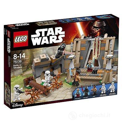 Battaglia al castello di Maz - Lego Star Wars (75139)