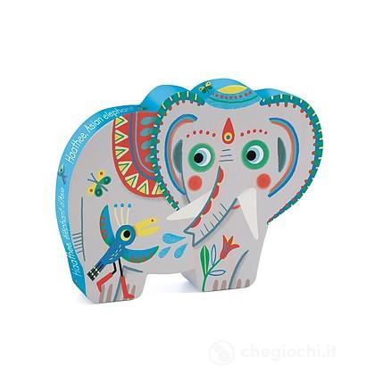 Puzzle Haathee, Elefante indiano 24 pezzi DJ07208
