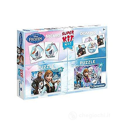 MultiPuzzle 2x30+Domino Frozen (08208)