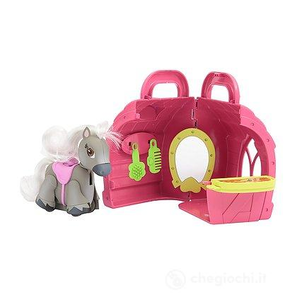 Pet Parade Pony Parade Playset Stalla con Pony Esclusivo e Accessori (PTN02000)