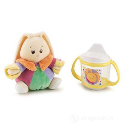 """Gift set """"Plush & mug"""" coniglietto"""