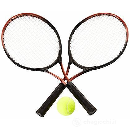 2 Racchetta Tennis con pallina (0726133)