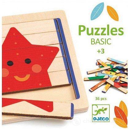 Puzzles Basic in legno (DJ06211)