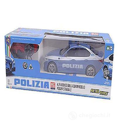 Alfa Romeo Giulia Polizia Scala 1:14 2.4 Ghz (Modellino Radiocomandato)