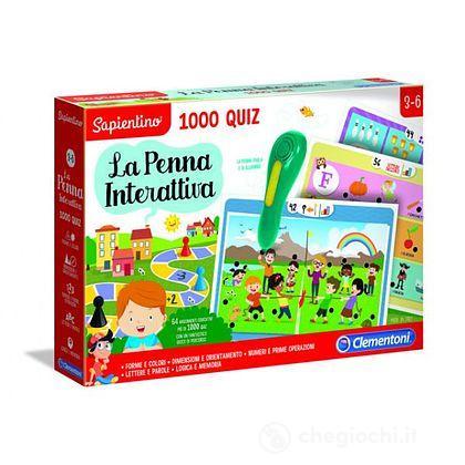 Sapientino La Penna Interattiva 1000 Quiz (16211)