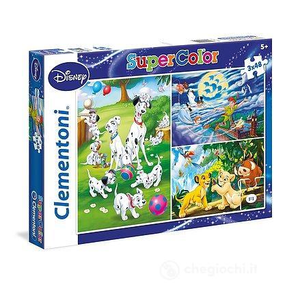Puzzle 3X48 pezzi Disney 25212