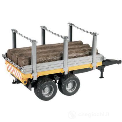 Rimorchio trasporto tronchi (02213)
