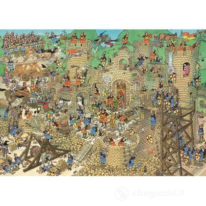 Comic 1000 Pezzi- Conflitto Nel Castello (617213)