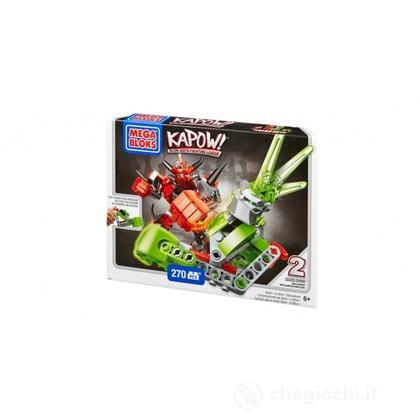 Mega Bloks Kapow! BASH contro NITRO SHOWDOWN (94215U)