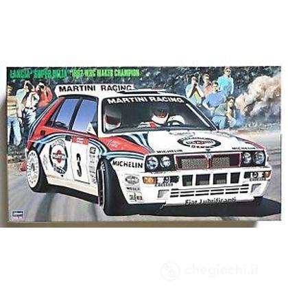 Auto Lancia Super Delta (92 WRC Makes Champion). Scala 1/24 (HASCR15)