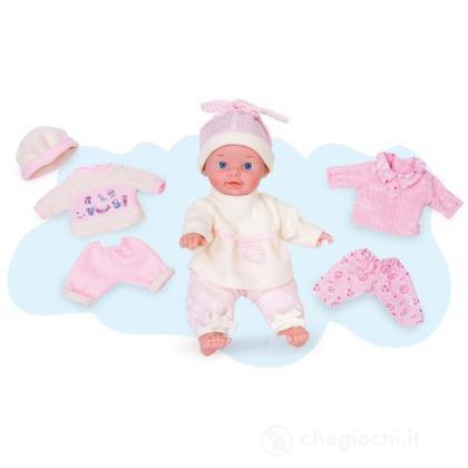 Babyland 25 cm morbida con vestiti extra