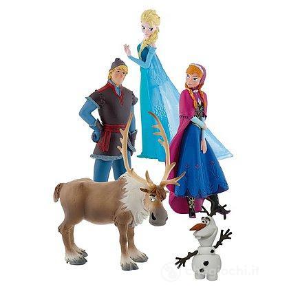 Frozen Delux set 5 personaggi (12216)