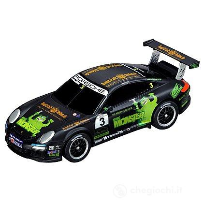 "Auto pista Carrera Porsche GT3 Cup ""Monster FM, U.Alzen"" (20061216)"