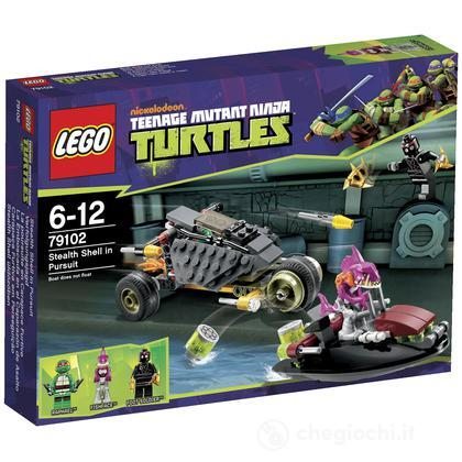 Stealth Shell all'inseguimento - Lego Teenage Mutant Ninja Turtles (79102)