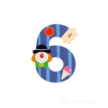Numero 6 Clown