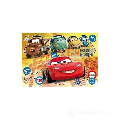 Puzzle cornice 15 pezzi Cars 2