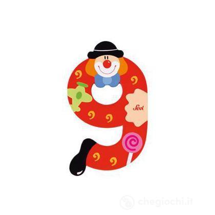Numero 9 Clown